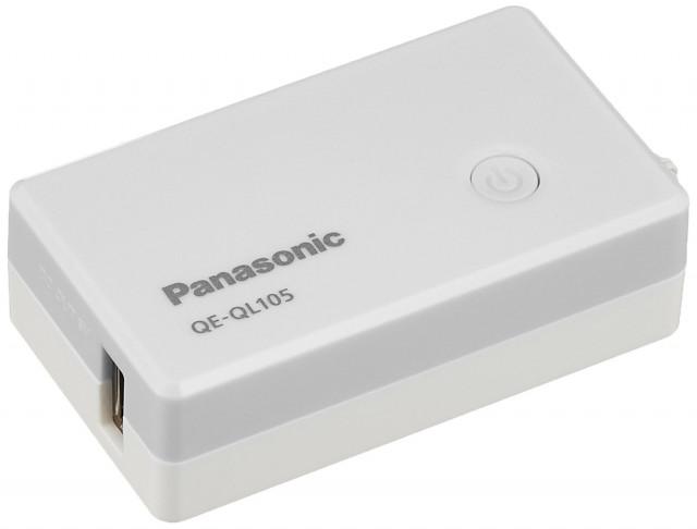 パナソニック モバイルバッテリー QE QL105 2,900mAh
