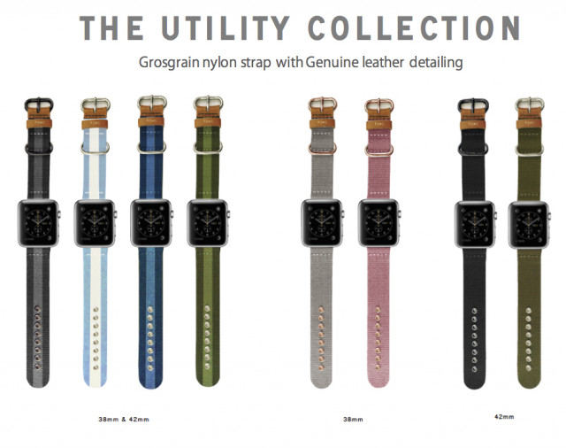 TOMS for Apple Watch Bands The Utility Collection