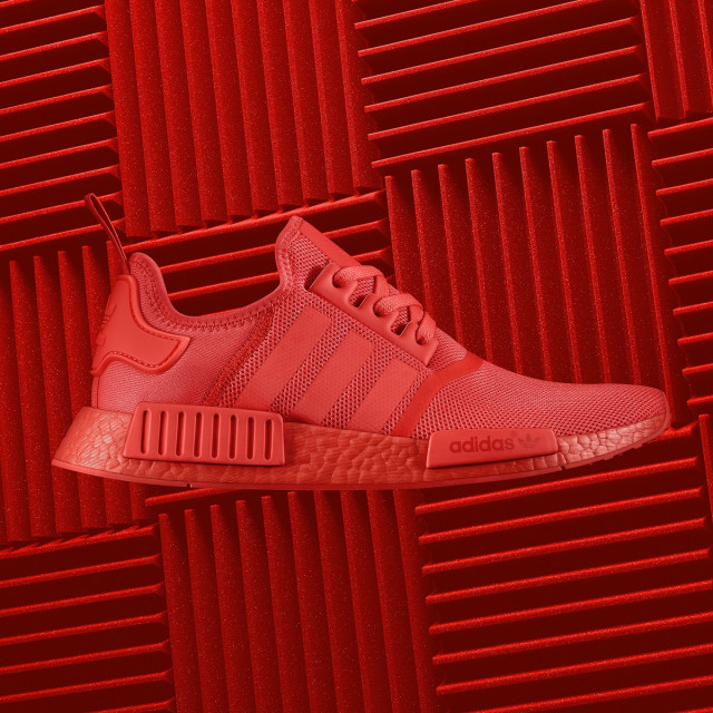 adidas Originals COLOR BOOST NMD NMD R1 Solar Red