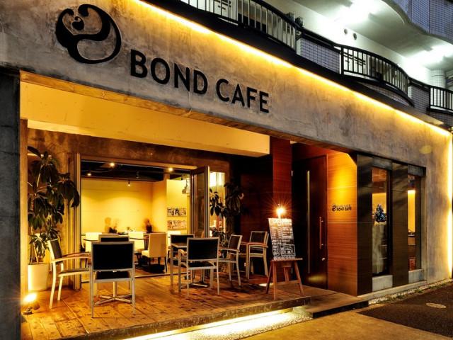 名古屋駅周辺のおすすめカフェ BOND CAFE(ボンドカフェ) 外観