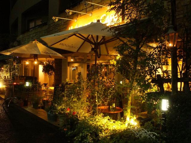 恵比寿カフェ 夜のおすすめ Mother earth cafe