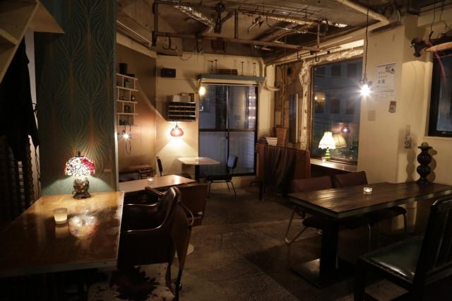 恵比寿カフェ 夜のおすすめ ark PRIVATE LOUNGE