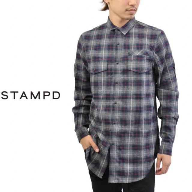 STAMPD(スタンプド)のチェックシャツ