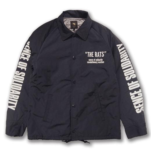 バイカーにおおすすめのファッションアイテム RATSのコーチジャケット