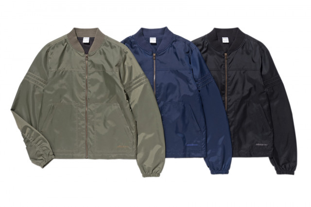 adidas neo 2016 winter OUTER COLLECTION ミリタリーウォームジャケット