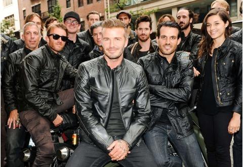 秋の海外セレブファッションコーデにみるライダースジャケット23選!David Beckham(デイビッド・ベッカム)着用ライダースジャケット