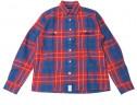 2016年秋おすすめのメンズ赤チェックシャツ DESCENDANT(ディセンダント)の格子チェックシャツ