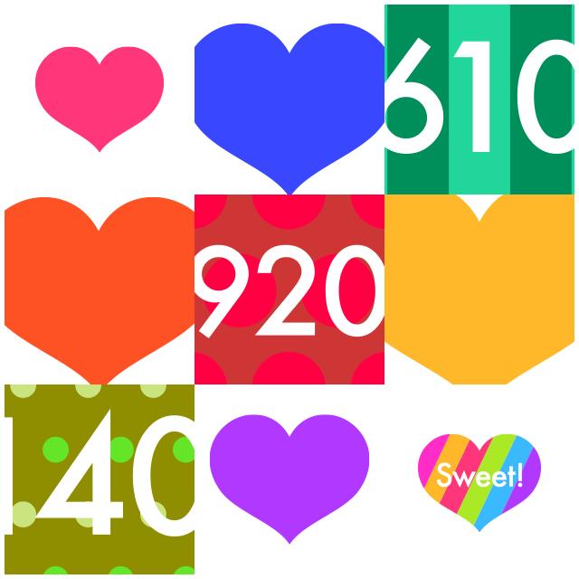 カップルにおすすめのアプリ「Heart is in」 常に変化するハート