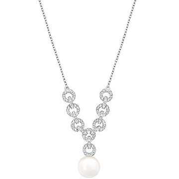 彼女へのプレゼントにおすすめのネックレス スワロフスキー Duplex ネックレス