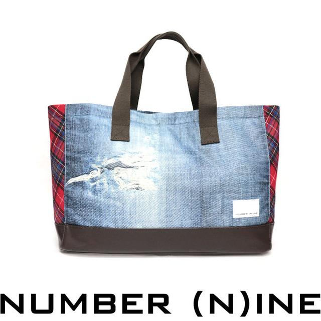 トートバッグのストリート系メンズファッション おすすめブランド:NUMBER (N)INE(ナンバーナイン)