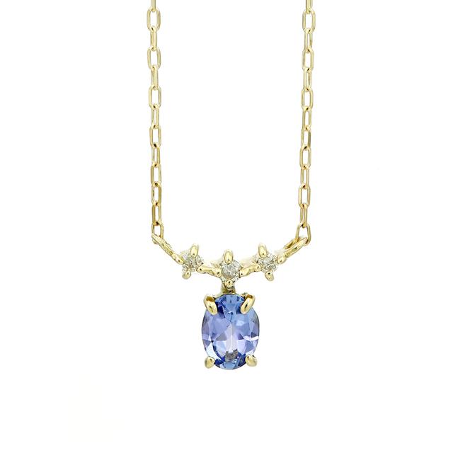 彼女へのプレゼントにおすすめのネックレス me.luxe(エムイーリュクス)のバースデーストーンネックレス