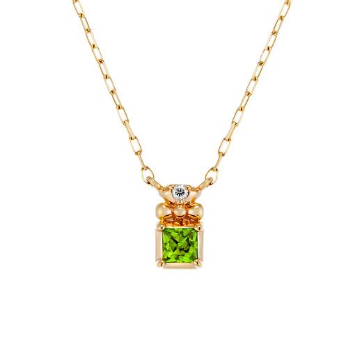 彼女へのプレゼントにおすすめのネックレス 4℃(ヨンドシー)の誕生石ネックレス