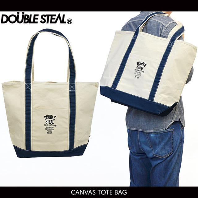 トートバッグのストリート系メンズファッション おすすめブランド:DOUBLE STEAL(ダブルスティール)