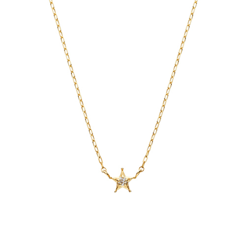 彼女へのプレゼントにおすすめのネックレス ヴァンドーム青山 星モチーフネックレス