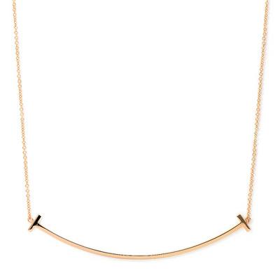 彼女へのプレゼントにおすすめのネックレス Tiffany & Co. スマイルペンダント