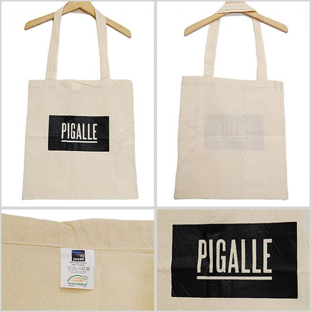 トートバッグのストリート系メンズファッション おすすめブランド:PIGALLE(ピガール)