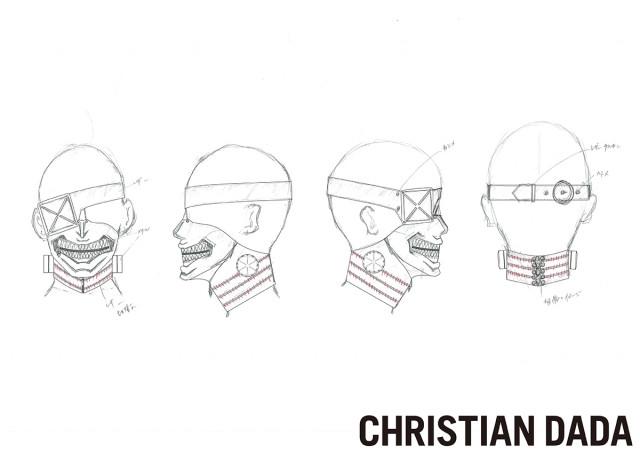 東京グールの衣装:CHRISTIAN DADA(クリスチャンダダ)