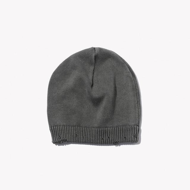 メンズファッション 冬のストリート系ニットキャップ / uniform experimentのDAMAGED KNIT CAP