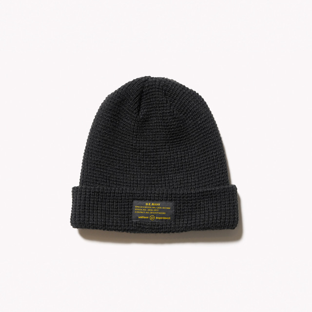 メンズファッション 冬のストリート系ニットキャップ / uniform experimentのUEN KNIT CAP