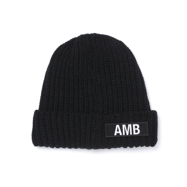 メンズファッション 冬のストリート系ニットキャップ / AMBUSHRのDREAMCATCHERS KNIT CAP 後ろ