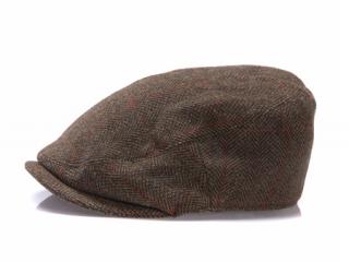 ハンチングのメンズファッション冬 おすすめブランド:Barbour(バブアー) Gamefair Tweed Cap ゲームフェアツイードキャップ