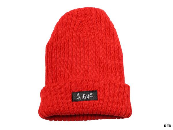 メンズファッション 冬のストリート系ニットキャップ / MURALのBOX KNIT CAP