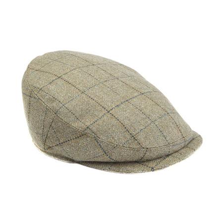 ハンチングのメンズファッション おすすめブランド:Barbour(バブアー) Gamefair Tweed Cap ゲームフェアツイードキャップ