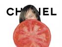 とんだ林蘭の作品:CHANEL×トマト
