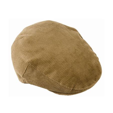 ハンチングのメンズファッション おすすめブランド:Barbour(バブアー) Cord Flat Cap コードフラットキャップ