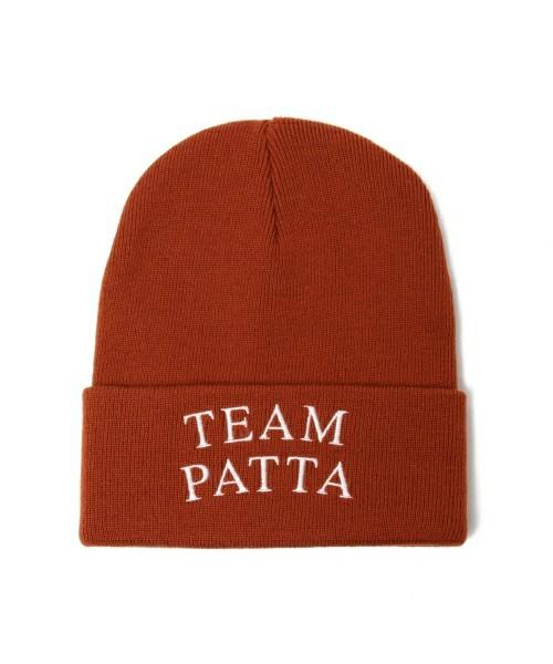 メンズファッション 冬のストリート系ニットキャップ / PATTAのTEAM WATCH CAP