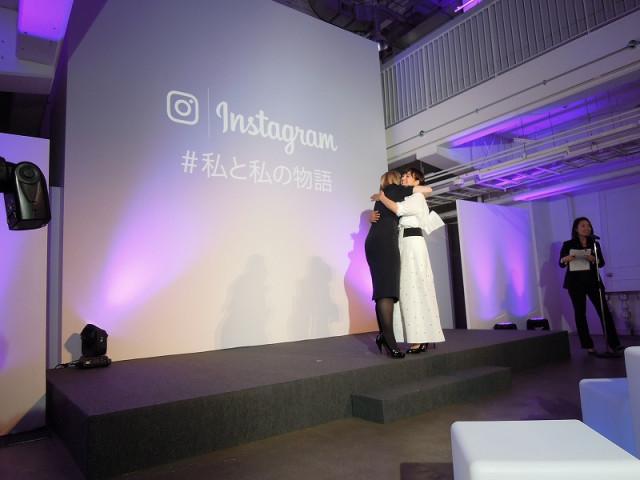 Instagram(インスタグラム)#私と私の物語に出席した滝川クリステルとマーニー・レヴィーン
