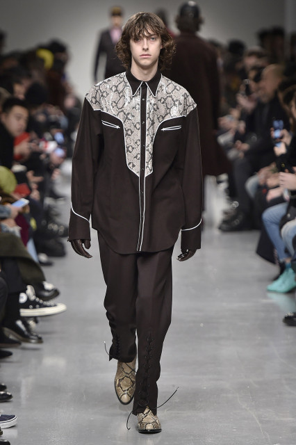 JOHN LAWRENCE SULLIVAN AW17 LFWM Catwalk Imagery Look 14