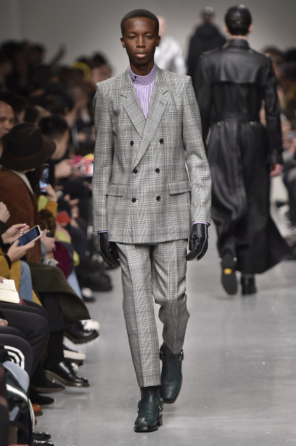 JOHN LAWRENCE SULLIVAN AW17 LFWM Catwalk Imagery Look 19