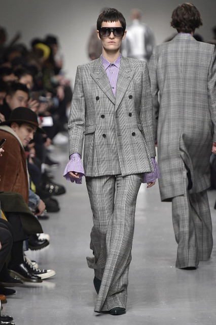 JOHN LAWRENCE SULLIVAN AW17 LFWM Catwalk Imagery Look 22