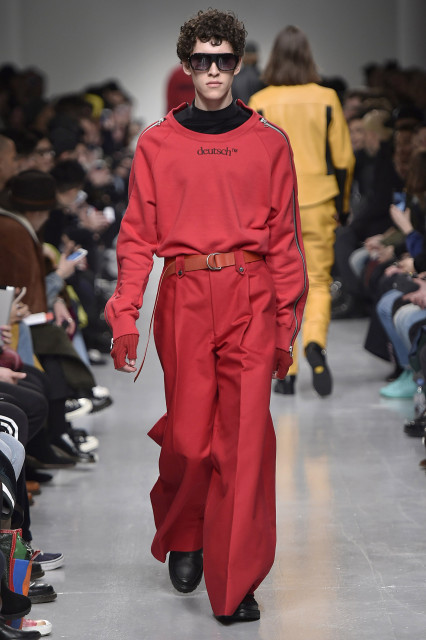 JOHN LAWRENCE SULLIVAN AW17 LFWM Catwalk Imagery Look 31
