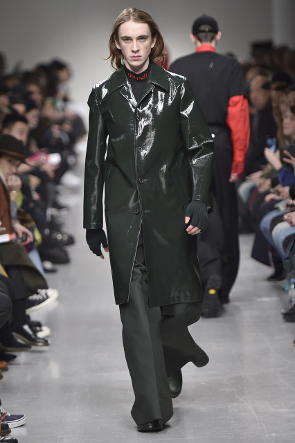 JOHN LAWRENCE SULLIVAN AW17 LFWM Catwalk Imagery Look 34
