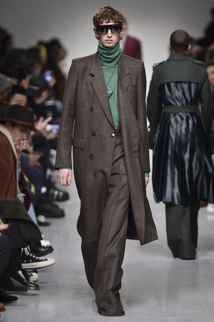 JOHN LAWRENCE SULLIVAN AW17 LFWM Catwalk Imagery Look 6