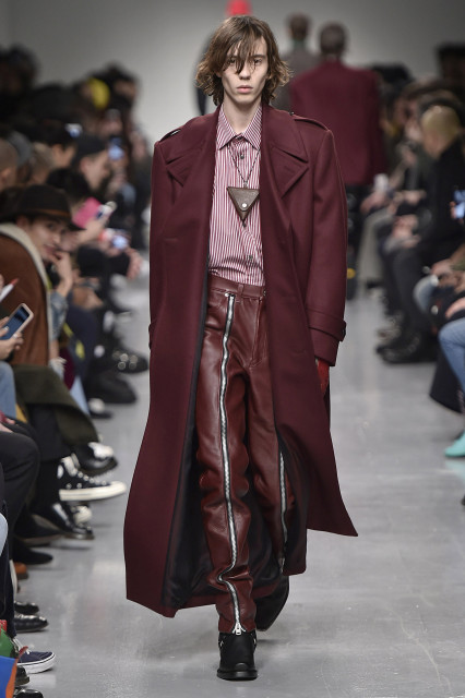 JOHN LAWRENCE SULLIVAN AW17 LFWM Catwalk Imagery Look 8