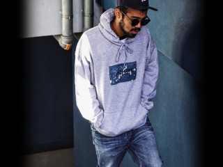 PLAY for APPLEBUM Vintage Denim Sweat Parka