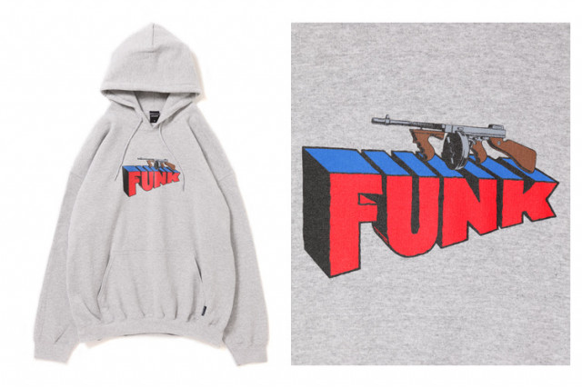 """Machine Gun Funk"" Sweat Parka"