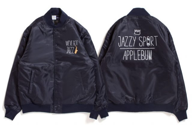 APPLEBUM × JAZZY SPORTスタジャン