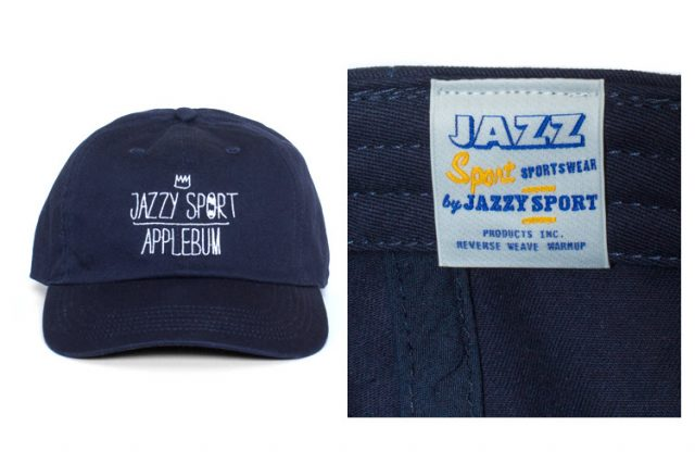 APPLEBUM × JAZZY SPORTキャップ