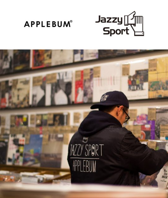 APPLEBUM×JAZZY SPORT